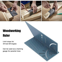 Woodworking 3D Mitre Angle Measuring Square Size Measure Too...
