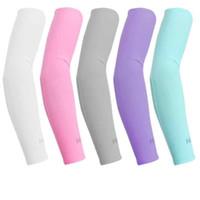 Arrefecimento camuflagem luva Unisex Sports Sun Bloco Anti UV Protection mangas Ciclismo Arm Sleeve arrefecimento luva Covers ZZA2130