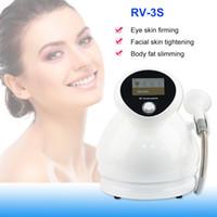 3 في 1 photon rf فراغ آلة العلاج RV-3S للعيون والوجه والجسم المعالجة