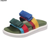 Тапочки SagaCE Обувь Дамы Летние Женщины Мода Водонепроницаемый Открытый Цвет Соответствующие Луки 2021