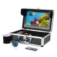 Unterwasser-10inch-Kamera-HD Visuelle Fischen mit Bildschirm IRLED Licht-Infrarotlampen Eisfischen Hot Sell - EU 50M