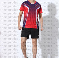 23 Badminton Gleitpaarung 45 Modelle 681 T-Shirt 13 kurzärmelige 25 schnell trocknende Farbanpassung druckt nicht verblasste Tischtennis 35 Sportbekleidung
