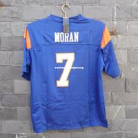 Nuevos llegados. Personalizado barato Alex Moran Jersey   7 Blue Mountain  State Movie TV Fútbol cosido Azul Personalizado ... 74653f38e15