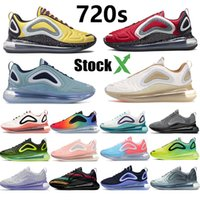 Stocxk Running Shoes 720 Mens Trainers Paisana Volt Black Red Waffle do sol White Spirit Teal China Espaço Chaussures sapatilhas do desenhista