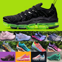 2019 Nuevo Tn plus Tn Shoes hombres Bumblebee True Grape Triple Negro Diseñador Zapatos Mujer Sherbet Team Red Chaussures Negro Blanco Sneaker
