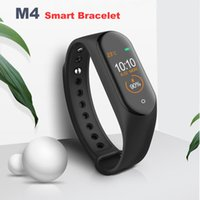 M4 Smart Tracker Fitness PK Mi Band 4 Fitbit Style Smart Watch 0.96 pollici IP67 Impermeabile Heart Rate Blood Pressure MQ20
