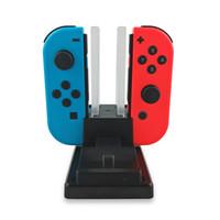 6 1'de Şarj Hızlı Nintendo Anahtarı için Şarj Yuvası Nintend Anahtarı Joy-Con ve Pro Controller İstasyonu Standı