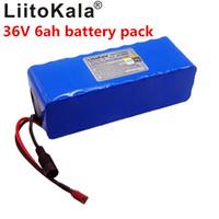 LiitoKala 36V 6ah 500W 18650 Lithium-Batterie 36V 8AH elektrische Fahrradbatterie mit PVC-Fall für Elektro-Fahrrad