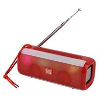 TG144 Portátil Bluetooth Speaker 10W inalámbrico sonido estéreo altavoces al aire libre LED Subwoofer Support Aux FM Radio TF USB LED luces LED