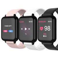 B57 1.3 polegadas IPS cor relógio inteligente frequência de heart heart heter hipotimeter chamadas de passo lembrete bluetooth impermeável esportes pulseira