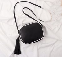 Hot sales New Style Tassel good quality Leather 17cm women b...