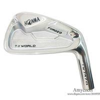 Nuovi club di golf testa HONMA TW747 Vx golf ferri 4-11 Irons Set 8pcs / Lotto n leva forgiati in argento club Irons testa di trasporto