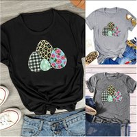 Wholesale Cotton And Polyester True Size Easter T- shirt Wome...