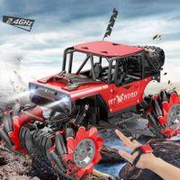 SHAREFUNBAY 1:14 RC автомобиль 4wd 2020 новый жест зондирования гс автомобиль часы двойной гс внедорожник сплава боковой дрейф детских игрушек. MX200414
