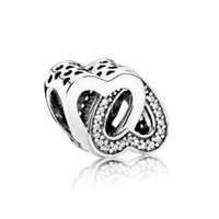 Nowy 100% 925 Sterling Silver 1: 1 Autentyczne 791880CZ Undined Love Charm Bransoletka Oryginalna Biżuteria