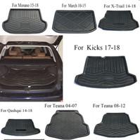 2019 Veeleo Custom Made Artificial Leather Car Trunk Mats