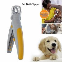 Pet Nail Trimmer Peti Care Dog Nail Clippers Grinders for Ca...
