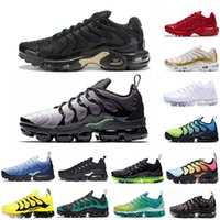 Nike air max TN Plus de guerra de los hombres zapatos para correr Megatron Eagles Active Fuchsia Black Volt mujeres Runner Trainer Fashion des chaussures