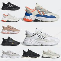 2020 Adidas Ozweego Hommes Femmes Chaussures de course Blanc Multi Solar Red Trail blanc WMNS casual sneakers mens Trainer Sports Chaussures 36-45