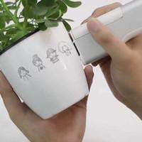 Pensión de impresión de tatuaje portátil Patrón de bricolaje Impresión personalizada Conexión inalámbrica WiFi Mini Inkjet Impresora