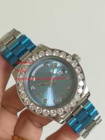 Livre Envio De Alta Qualidade Relógios De Pulso Novos Chegada 44mm Full Diamond 118018 Ásia 2813 Movimento Automático Men's Watch Relógios