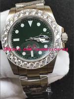 7 Estilo Reloj de pulsera de lujo en dos tonos, 40 mm, acero, para hombre, fecha 116613. Reloj automático para hombres más grande de diamante. Nueva llegada.