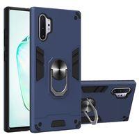 Kickstand Shockproof Cover Car Holder Magnetic Ring Hybrid Case for Samsung Galaxy A10 A20 A30 A40 A50 A60 A70 A81 A91 J530 J730 J4 J6 J8
