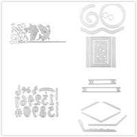 2019 Nouveau rectangle Shaker marqueur Métal Dies coupe Cadre Stencil bricolage scrapbooking Album Cartes gaufrer du papier décoratif Artisanat
