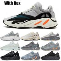 2021 avec encadré 700 Statique Wave Runner Shoes de course de course reflète Black Glow dans Dark Antlia Bred Hommes Femmes Sneakers