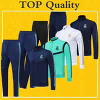 2020 Real Madrid Soccer Full- Zip Track Jacket Tracksuit 19 2...