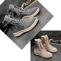 2019 حار أفضل نوعية الرجال والنساء مارتن الأحذية الخوف من الله الأعلى أحذية رياضية العسكرية هايت الجيش BootsFashion أحذية أحذية عالية العلامة التجارية
