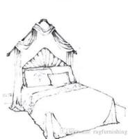 Conjunto de cama Condial links para cliente de FB ou Insbrand Cama Set Queen ou King Size