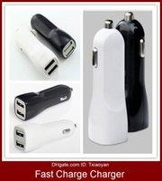 미니 자동차의 USB 충전기 아이폰 삼성 태블릿 자동차 충전기 공장 싼 빠른 충전 휴대 전화 충전기 듀얼 포트 2 USB 차량용 충전기