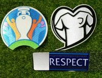 2020 EUR Qualifier Patch And Respect Badge Soccer Patch Heat...