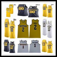2021 Basketbol Michigan Wolverines Jersey Jon Teske Zavier Simpson Eli Brooks Franz Wagner Isaiah Kirletici Lights Poole Webber Rose David Özel 4XL