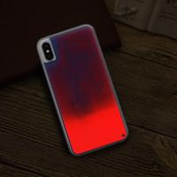 Per LG K40 K10 Stylo 4 Plus V30 V20 V10 K5 K4 K3 K7 che scorre al neon di sabbia liquida Full Body con il caso del telefono Glow lunetta rialzata