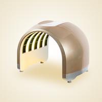 Belleza Salud 4 colores de las luces LED de fotones PDT, las mascarillas faciales de rejuvenecimiento de la piel Cuidado terapia con el dispositivo portable de la belleza del balneario Uso PDT