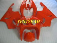 Custom Motorrad Verkleidungskörper Kit für KAWASAKI Ninja ZX-7R ZX7R 1996 1999 2003 ZX 7R 96 99 00 03 Red Verkleidungskörper + Geschenke