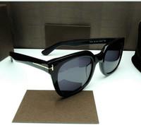 venta caliente de la manera Tom marca con gafas de sol polarizadas para mujer para hombre del TF Gafas de sol UV400 Oculos masculino masculino TR90 Eyewear 211