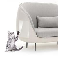 2PCS / مجموعة القط الحرس الخدش صوفا حامي المضادة للخدش وسادة الأريكة الحرس حصيرة القطط الخدش وسادات أثاث منزلي HHA1070
