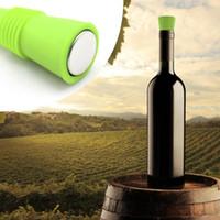 Wine Stoppersl Силиконовый Красный Винный Стопор Вакуумная Герметичная Бутылка Вина Стопор Cap Шампанское Sealer Бар Кухонные Инструменты