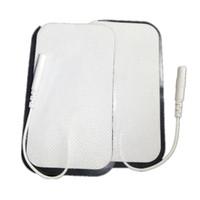 5x9cm électrode Pad électriques Tapis choc auto-adhésif Accessoires pour Digital Therapy Full Body Massager EMS Des dizaines machine 10pairs / lot