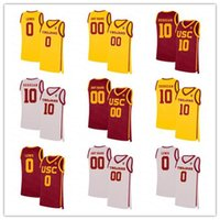 NCAA Men USC Trojans College Basketball 10 DeRozan Isaías Mobley Onyeka Okongwu Brian Scalabrine McLaughlin Chimezie Metu Agbonkpolo Jersey
