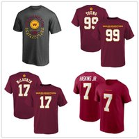 NCAA Washington Jersey della squadra di football Chase giovane Dwayne Haskins Terry McLaurin Mens T-shirt maniche corte Fans Top dei T shirt stampata