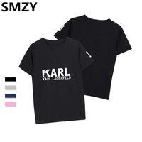 Smzy Karl T-shirts Hommes Chemises Casual T-shirt Sans Tag T-shirts Mode Homme T-shirts Impression Drôle T-shirts Hommes T-shirt Doux Femme 39 S C19041702