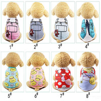 Cute Pet Dog Cat T- shirt Vest Clothes Small Cotton Puppy Sof...
