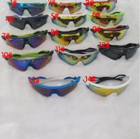 Lunettes de soleil à cyclisme de l'homme d'été neuf Spectacles Spectacles Femmes Vélo Goggle Lunettes Sports Lunettes de vue en plein air Couleurs Lunettes de soleil 15 Couleur