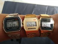 Mode-Klassiker Student f-91w Uhren Unisex Süßigkeit Kind f91 dünne LED-Uhr-Wecker