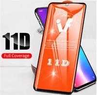 11D Full Cover Glue Tempered Glass For Xiaomi Mi 8 9T 9 SE A2 Lite Pocophone F1 Mix 3 Redmi Note 7 6 K20 Pro Screen Protector