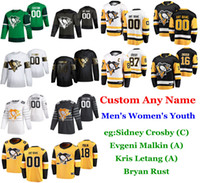 S-6XL 2020 All-Star Game Pittsburgh Penguins Hockey Jerseys Jared McCann Jersey Evan Rodrigues Conor Sheary Dominik Simon Custom Stitched